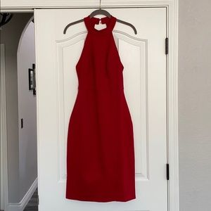 Red cocktail dress Brand new never worn
